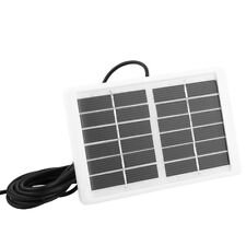 6V 1.2W Durdable Waterproof Solar Panel Charger For Emergency Light Camping GD