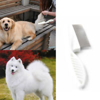 Pet Puppy Dog Cat Hair Shedding Grooming Trimmer Fur Comb Brush Tool