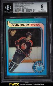 1998 O-Pee-Chee Chrome Blast From the Past Refractor Wayne Gretzky #1 BGS 9 MINT