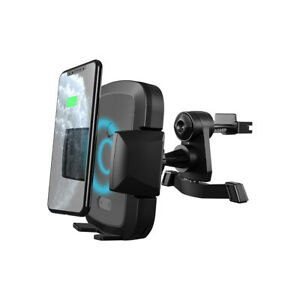 NEW Cygnett ExoDrive Wireless 10W Phone Car Charger & Automated Vent Mount