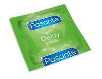 Pasante DELAY Condoms Performance Enhancing GENUINE100% Prolong Love Regular UK