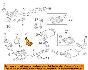 Lexus 17572-0H020 Exhaust System Hanger