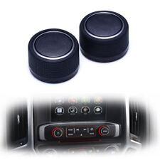 Rear Control Knobs Audio Radio For Escalade Enclave Tahoe Chevrolet GMC PairsSet