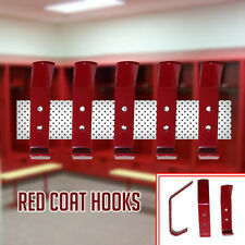 New Red Coat Hooks Door Wall Hooks Changing Room, Baby Nursery, Kids Bedroom