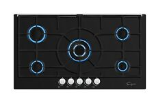 "Empava 36"" Gas Stove Cooktop NG/LPG Convertible with 5 Italy Sabaf Sealed Burner"
