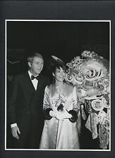 STEVE McQUEEN CANDID PUBLICITY PHOTO WITH CHINESE DRAGON