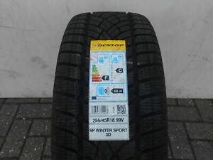 1 Winterreifen Dunlop SP WinterSport 3D MO 255/45R18 99V Neu!