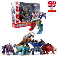 Power Rangers Transformers Toys Dinosaur Robots ABS Kids Action Figure UK STOCK