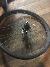 Vintage  Bmx 20 Inch Z Rim Shimano Hub Wheel