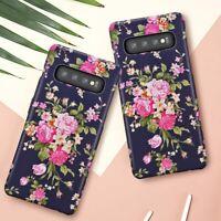 Pretty Flower Matte Ultra-Slim Case Cover For Samsung Galaxy S10 S10 Plus S10e