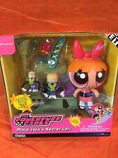 2002 Blossom & Mojo Jojo Secret Lair Action Figure Playset Powerpuff Girls