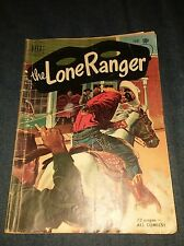 Lone Ranger # 36 VG- dell golden age red shirt western comics lot run set movie