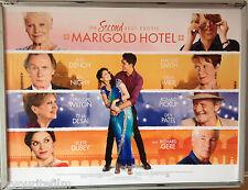 Cinema Poster: SECOND BEST EXOTIC MARIGOLD HOTEL 2015 (Quad) Maggie Smith