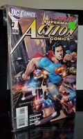 Action Comics New 52 issues #1-8 by Grant Morrison & Rags Morales DC 2013