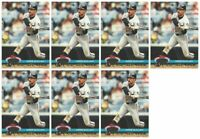 (7) 1992 Stadium Club Dome Baseball #72 Ozzie Guillen Chicago White Sox Card Lot