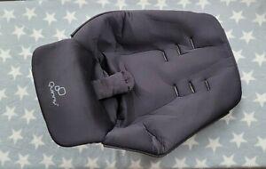 Quinny Buzz XL Seat Pad Liner in Black Toddler Memory Foam