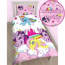 My Little Pony Equestrian Set Housse de couette simple literie enfant NEUF