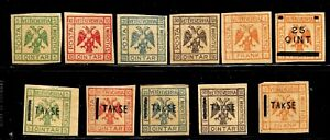 HICK GIRL- BEAUTIFUL MINT ALBANIA STAMPS    VARIOUS  ISSUES       D1227