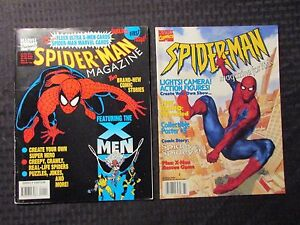 1990s SPIDER-MAN 30th Poster Magazine #1 & For Kids LOT of 3 FVF 7.0
