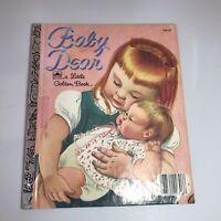 Vintage Little Golden Book BABY DEAR Esther & Eloise Wilkin (c) 1962 Vogue Dolls