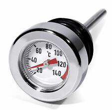 Oil Dipstick Celsius Temperature For Harley Davidson Softail Thermometer