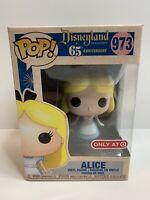 Funko Pop! Alice in Wonderland Disneyland Pop 973 In Hand NEW Target Minor Wear