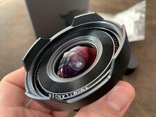 Voigtlander 12mm F5.6 Ultra Wide Lens Leica M Mount Mint+++