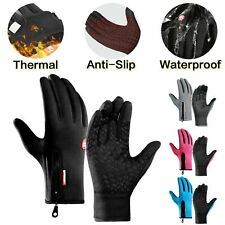Bike Cycling Gloves Touch Waterproof Full Ginger Winter Fitness Delivery Warehou
