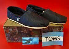 Women's TOMS Classics Navy/Paisley Dots BNIB Shoes - UK5.5 - (LEY/GA7577)
