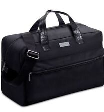 NIP Jimmy Choo Parfums Black Duffle Weekender Travel Office Gym Bag SEALED