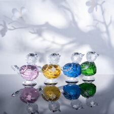 Cute Bird Crafts Crystal Glass Figurines Ornament Christmas Decor Wedding Gift
