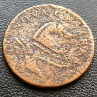 1787 New Jersey Colonial Copper Token ~ Nova Caesarea Rare Better Grade #22979