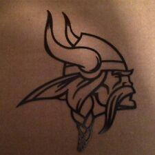 "Minnesota Vikings Metal Art - 18""x15"" - Black Hammered 3"