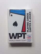 WPT World Poker Tour Playing Cards NEW Sealed Bee Poker Cards