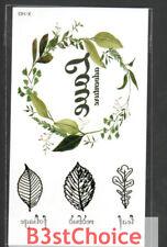Small Fresh love advanture leaf Temporary Tattoo Stickers Body Art