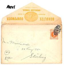 AK45 1896 GB Stirling SHULTZE polvere da sparo Pubblicità COVER