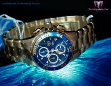 New TechnoMarine Sea Manta 32mm Gold Blue Dial Japanese FS10 Quartz Model 215051