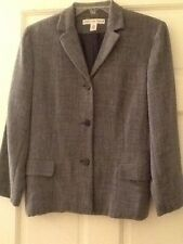 JOSEPHINE CHAUS Womens Blue Long Sleeve Career Blazer Lined Jacket Size 6