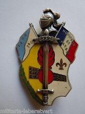 Insigne PROMOTION GENDARMERIE 332° CHAUMONT  OBSOLETE ORIGINAL