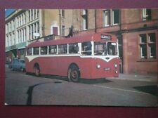 POSTCARD DARWEN CORPORATION BUS NO 18 - 1957 CROSSLEY RELIANCE