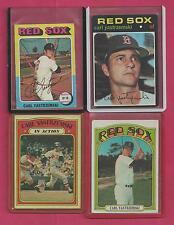 1 Carl Yastrzemski Topps Card 1971 # 530 Boston Redsox Ex - Near Mint