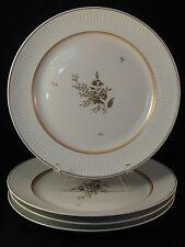 """4 Royal Copenhagen CLARISSA Dinner Plates 10"""" Dia # 1510/14058"""
