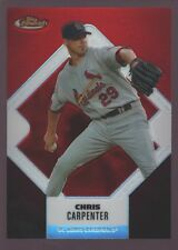 CHRIS CARPENTER CARDINALS /399 RED REFRACTOR MINT SP 2006 TOPPS FINEST GEM