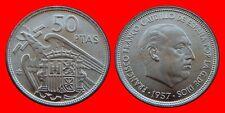 50 PESETAS FRANCO 1957-59 SIN CIRCULAR DE CARTUCHO ESPAÑA
