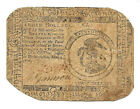 1776 REVOLUTIONARY WAR CURRENCY UNITED COLONIES $3.00 NOTE PRINTED HALL SELLERS