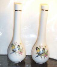 Vintage Pair of Made in Japan Bud Vases Parrots?