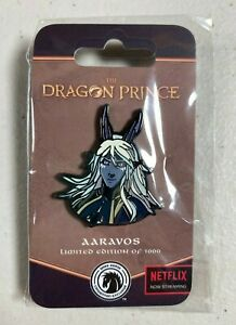 THE DRAGON PRINCE Aaravos Limited Edition Pin NYCC Dark Horse Exclusive LE 1000