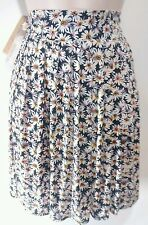 American Rag Pleated Floral Skirt New With Tags Jr Woman's XL Dasies Flowers
