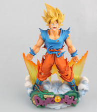 Dragon Ball Figure Son Goku Figure MSP Super Saiyan The Brush Figure PVC 23cm