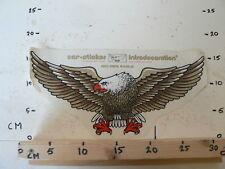 STICKER,DECAL LARGE STICKER GOLDEN EAGLE BIRD AREND LARGE 33 CM VINTAGE